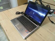New listing Hp Pavilion Dm3 Laptop 4 Parts Booted Windows 320 Gb Hard Drive Wiped *Read*