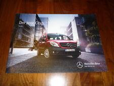 Mercedes benz citan combi folleto 09/2012