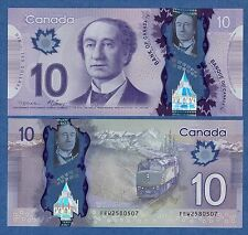CANADA 10 Dollar P 107 2013 Perfect UNC Polymer Low Shipping! Combine FREE!