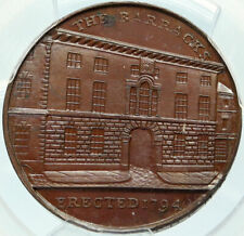 1797 ENGLAND UK Warwickshire KEMPSON's Barracks CONDER Token PCGS Coin i84267