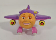 "2002 Tracy 3"" Toy Island Plastic Airplane Action Figure Jay Jay Jet Plane"