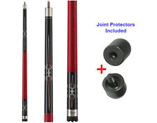 Viper Sinister 50-1250 Pool Cue Stick 18-21 oz & Joint Protectors