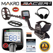 "NEW Makro Racer 2 Metal Detector Standard Package with 11"" x 7"" Waterproof Coil"