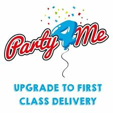 Upgrade postage for your Party4Me order to FIRST CLASS DELIVERY
