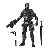 Hasbro G.I. Joe Classified Series Snake Eyes 6-Inch Action Figure 02 Premium Toy