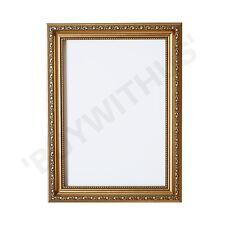 Ornate Shabby Chic Picture frame photo frame poster frame   Gold