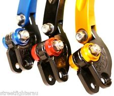 PAZZO LEVERS FOLDING for Suz/Yam/Hon/Kaw/Duc/Triu/April/BMW -see list for models