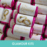 100 PERSONALISED MINI LOVE HEART SWEETS WEDDING CANDY PARTY FAVOURS GOLD RINGS