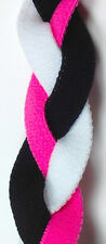 NEW! Pink White Black Grippy Band Headband Hair Sport Soccer Softball Stretch