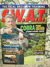 SWAT 6/2008~ARMALITE AR10 SASS~COBRA PUMP TACTICAL SHOTGUN~S&W 908~B&T TP9SF SMG