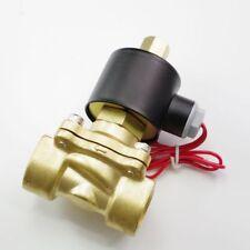 "12VDC Water Air Gas Fuel NO Solenoid Valve 1/2"" BSPP"