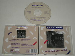 Mary Roos/ Mehr As One Feeling (Da Music CD 0087-2) CD Album
