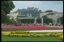 126077 Mirabell Gardens With Fort A4 Photo Print