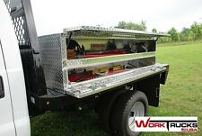 "Truck Tool Box Flat Bed - Double Decker NEW! 96"" long"