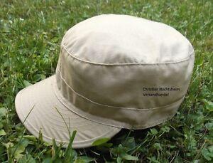 Anglermütze khaki beige Jagdmütze Feldmütze Schirmmütze Freizeitmütze Cap Cappi