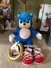 Build a Bear Sonic The Hedhehog 2020 Unstuffed