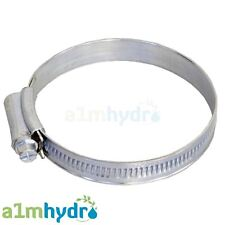 """Worm Driven Jubilee Clip Hose Ducting Clamps Ventilation Hydroponics 4"""" Inch 100mm"""