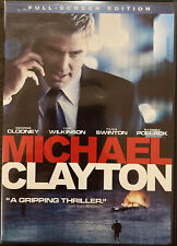 Michael Clayton (DVD, 2008, Full Screen)
