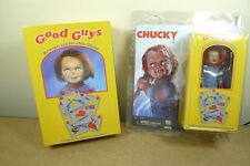 Neca CHILDS PLAY CLOTHED & ULTIMATE CHUCKY Cult Classic Horror Action Figure Set