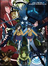 Black Rock Shooter Wall Scroll Anime Manga Cloth Poster NEW