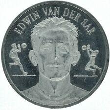 TOKEN / EDWIN VAN DER SAR ORANJE 2000 KNVB MEDAL TOKEN      #WT15904