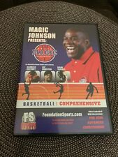 New Magic Johnson Magic Fundamentals Basketball Comprehensive Dvd Factory Sealed