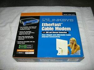 Linksys EtherFast Cable Modem Model BEFCMU10 ver. 2.