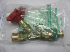 Pegler Commissioning Valve Brass Body With Test Points 126252 28mm PSU1260SF