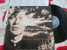 Robbie Robertson Robbie Robertson Geffen Records WX 133 + LyricsVinyl LP Album