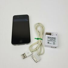 Apple iPhone 4 - 32GB Black A1332 / MC610LL(A) (GSM) - Broken Home/Power Button