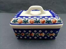Keramik Butterdose Deckeldose Heise Bunzlau Schlesien