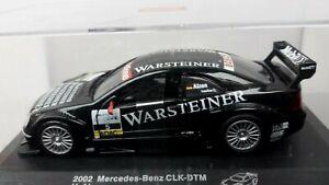 """VOITURE MINIATURE  1/34è   MERCEDES CLK-DTM  """"WARSTEINER""""  2002"""