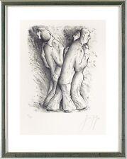 Günter Grass (1927-2015), Zwei Tanzende Paare, 2002 - signiert, nummeriert
