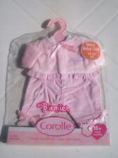 COROLLE..VETEMENTS  NEUF...POUPEE BEBE 30CM..ensemble pantalon bonbon.ANNEE 2009