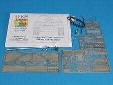 1/35 ABER 35K14 UPGRATE SET for GERMAN ELEFANT - for TAMIYA no 35325 Kit