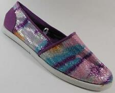 NEW Girls Youth's PARIS BLUES AZUSA Purple  Flats Slip On Loafers  Shoes sz 13