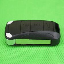 3-Tasten-Klappfernschlüsselshellentasche für Porsche Cayenne Uncut Blade