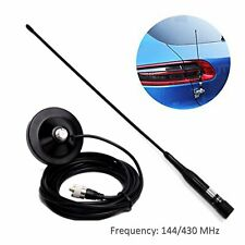 Support magnétique pour antenne mobile pour jambon double bande R2 PL259 UHF VHF