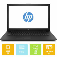 """17.3"""" HP Notebook 17-AK007NA, AMD up to 3.60GHz, 1TB, 8GB, Radeon, Laptop"""