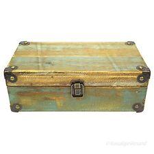 Aufbewahrungskiste Schatulle Kasten Holz Box Aufbewahrung Braun Vintage Shabby