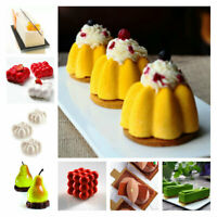 Porous 3D Silicone Cake Mold Baking Mold Cupcake Mousse Mould Decor DIY Bakeware