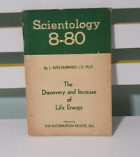 SCIENTOLOGY 8-80 L RON HUBBARD CE PHD 1957 THE DISCOVERY AND INCREASE OF LIFE