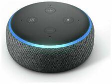 Amazon Echo Dot (3rd Gen) Smart Speaker with Alexa Charcoal Fabric - Brand new.-