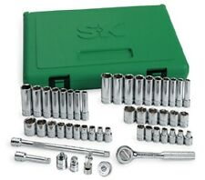 "SK Tools 91848 48Pc 1/4""Dr 6Pt  SAE / Metric Socket Set"
