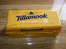 2 lb Tillamook Cheese Medium Cheddar  From Oregon!! Never Frozen! BUY 2 for $45!