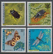 Wallis et Futuna 1974 ** Mi.254/57 Insekten Insects Käfer Beetle [sq5260]