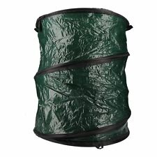 Collapsible Garden Rubbish Waste Storage Bag Bin Sack Pop Up Weeds Leaves