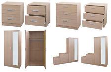 Oak Bedroom Furniture Sets with Wardrobe