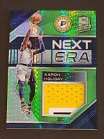 2018 Spectra Next Era /25 Aaron Holiday RC 3 Color Patch Neon Green Rookie