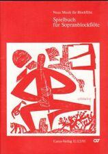 Spielbuch für Sopranblockflöte / flute et piano